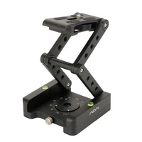 M Flex Tilt Tripod Head Aluminum Alloy Folding Quick Release Plate Stand Mount Spirit Level For Phones Camera