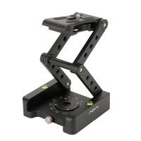 M Flex Tilt Tripod Head Aluminum Alloy Folding Quick Release Plate Stand Mount Spirit Level For Phones Camera