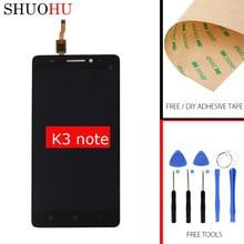 Тестирование жк-экран 5.5 дюймов для lenovo k50-t5 k3 note жк-дисплей сенсорный дигитайзер экран черный ассамблея бесплатная доставка 1920×1080