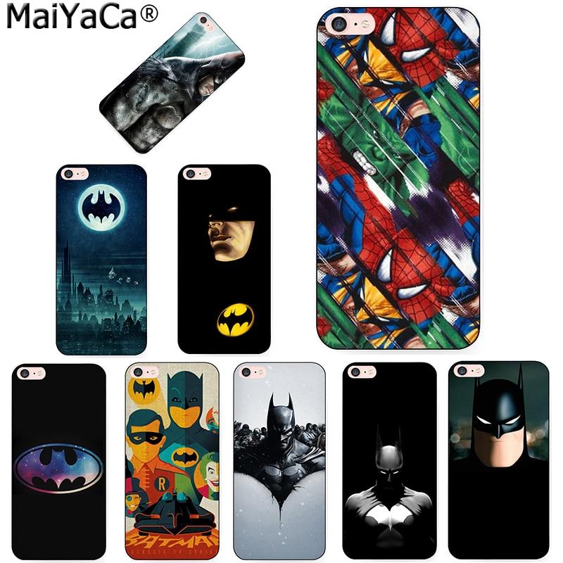 MaiYaCa Marvel Batman Bat Diy Cell Phone Protective phone