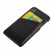 Для iphone XS MAX пояса из натуральной кожи чехол для телефона для XR X 7 8 плюс коровьей ультратонкий карта слот задняя крышка