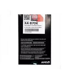AMD Athlon X4 870K X870K Boxed FM2+ Quad-Core CPU 100% working properly Desktop Processor