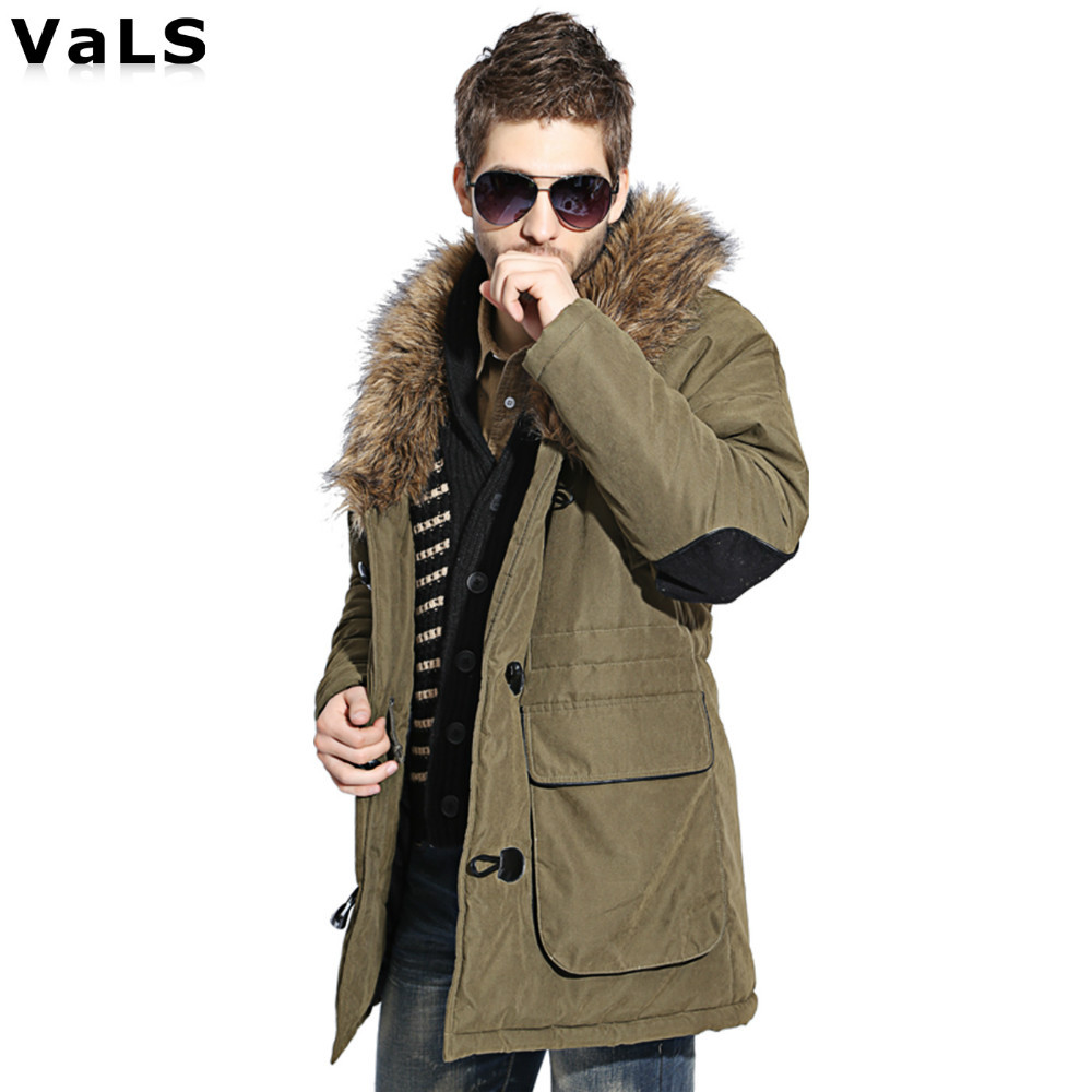Thickness Warm Winter Jacket Men Parka : High Quality Big Size Men ...