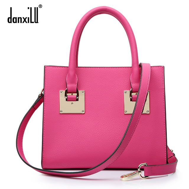 Danxilu spring and summer bag women's handbag one shoulder cross-body handbag small bag leather bag female