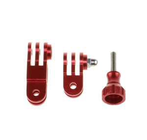 Image 5 - CNC de Alumínio de Três vias Ajustável Pivot Arm Ajustável de Rotação do braço de Montagem suporte Para Gopro Hero 6 5 4 4S 3 + 3 SJCAM