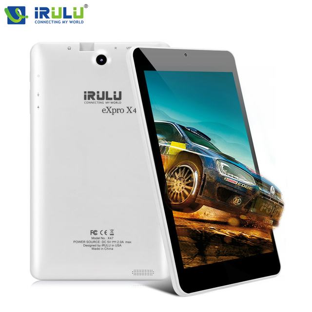 Оригинал IRULU X47 Google Tablet PCAllWinner А33 1.3 ГГЦ Cortex-A7 Quad Core Android 5.1 1 ГБ + 16 ГБ Wi-Fi Bluetooth 4000 мАч PAD