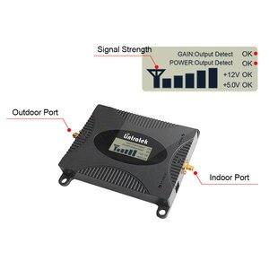 Image 3 - Lintratek LCD Display Signal Repeater 3G 2100MHz Booster Handy Verstärker UMTS 2100MHz Band 1 Celluar Zelle telefon Booster