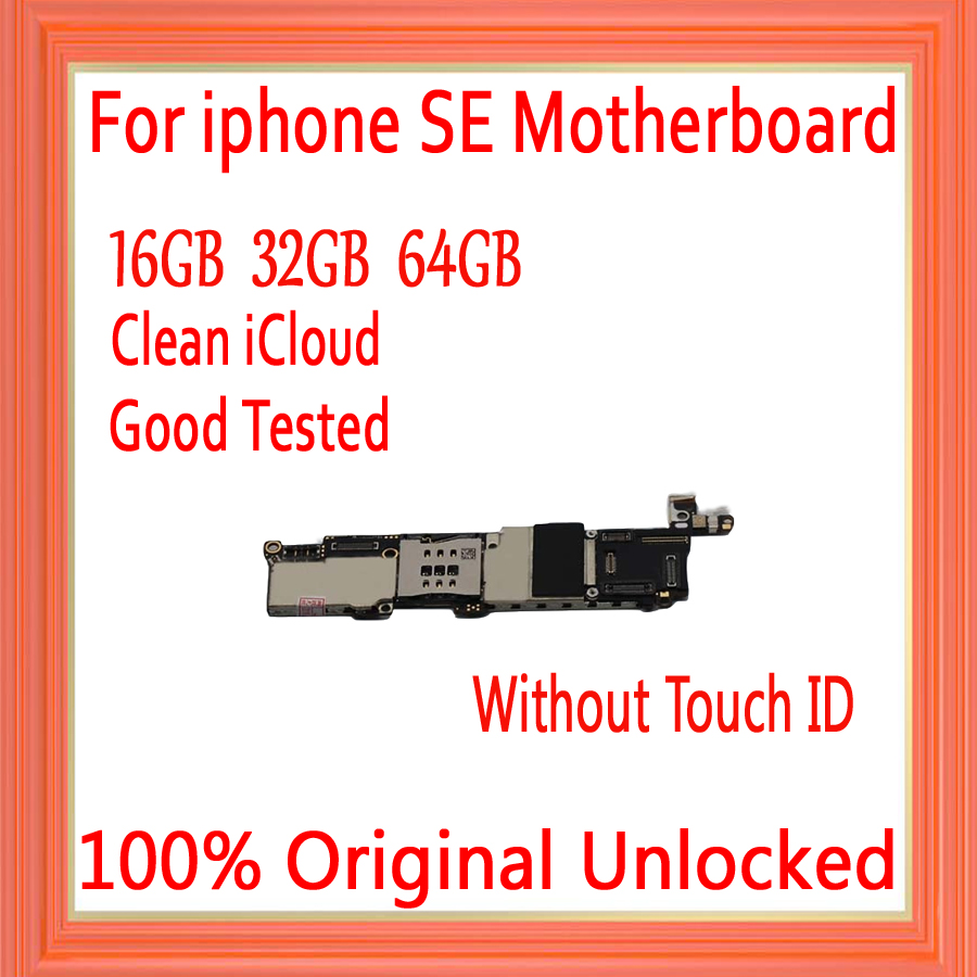 with IOS System for iphone 5SE Motherboard without Touch ID,100% Original unlocked for iphone 5SE Logic board,16gb / 32gb / 64gbwith IOS System for iphone 5SE Motherboard without Touch ID,100% Original unlocked for iphone 5SE Logic board,16gb / 32gb / 64gb