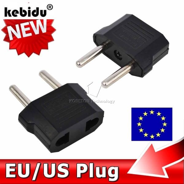 kebidu EU to US/AU/UK AC Power Plug Home Travel Converter Universal Europe Wall charger Jack Connector Socket Adapter Adaptor