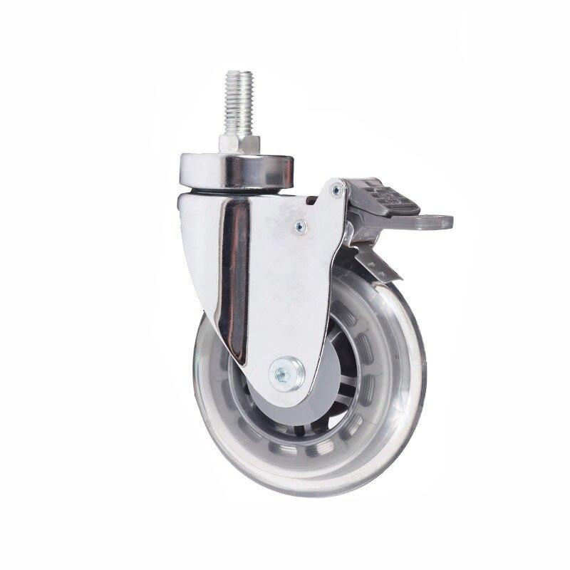 100 мм приглушенные медицинской МНЛЗ больничной койке стул колеса Универсальный колеса промышленности Бизнес техника обработки материалов ... ...