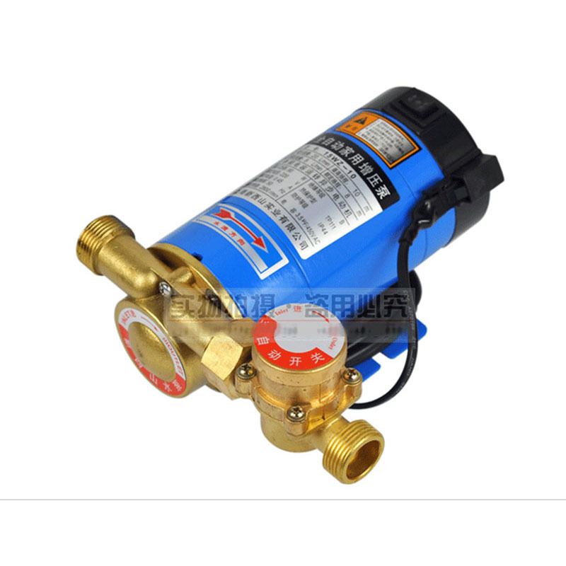 CE Approved Automatic Household Booster Pump15WZ-10 Copper structure,water heater increase pressure,cooling circulation,fish jar water pressure booster pump reorder rate up to 80% water circulation pressure pump for shower heating