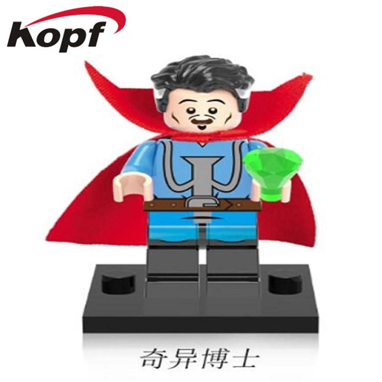 50Pcs XH 368 Super Heroes Building Blocks Doctor Strange Mr Fanstastic Ancient One Bricks Best Education For Children Gift Toys