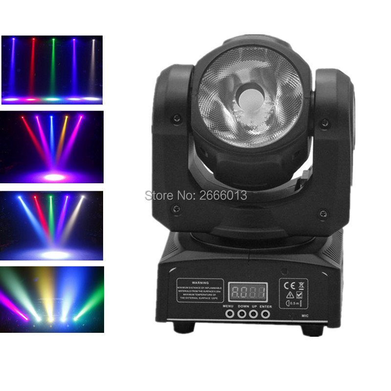 60W LED RGBW 4IN1 beam moving head light Super bright LED DJ Spot Light Disco Bar DMX512 60W LED linear beam stage effect lights niugul mini 10w rgbw 4in1 led moving head dmx512 light led beam spot lighting show disco dj laser light christmas party lights