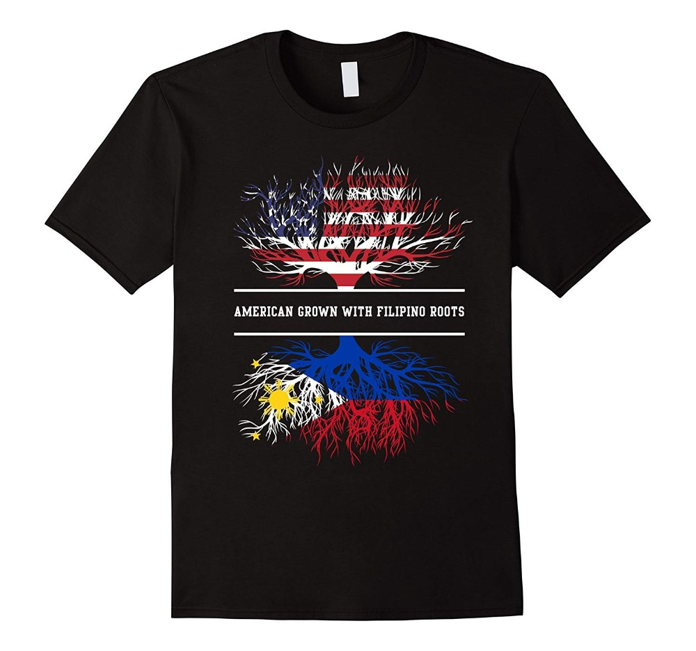 American Grown With Filipino Roots T Shirt Philippines Tee T Shirt