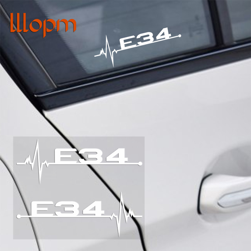 2pcs/lot M power performance E28 E30 E34 E36 E39 E46 E60 E61 E62 E90 E91 E92 LOGO car windows sticker for BMW car-styling for bmw 5 series e12 e28 e34 e39 e60 e61 f10 f11 f07 523i 528i 525i chrome number letters rear trunk emblem badge sticker