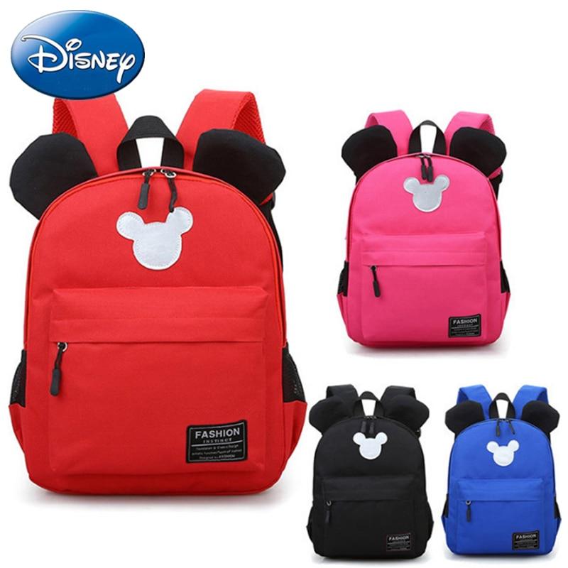 Disney Mickey Children School Bags Backpack