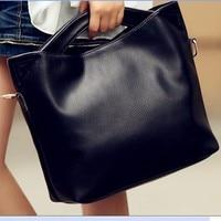 爆発バッグ卸売ファッションシンプルなハンドバッグハンドバッグソリッドカラーハイエンドpuレザーポータブル袋に代わって
