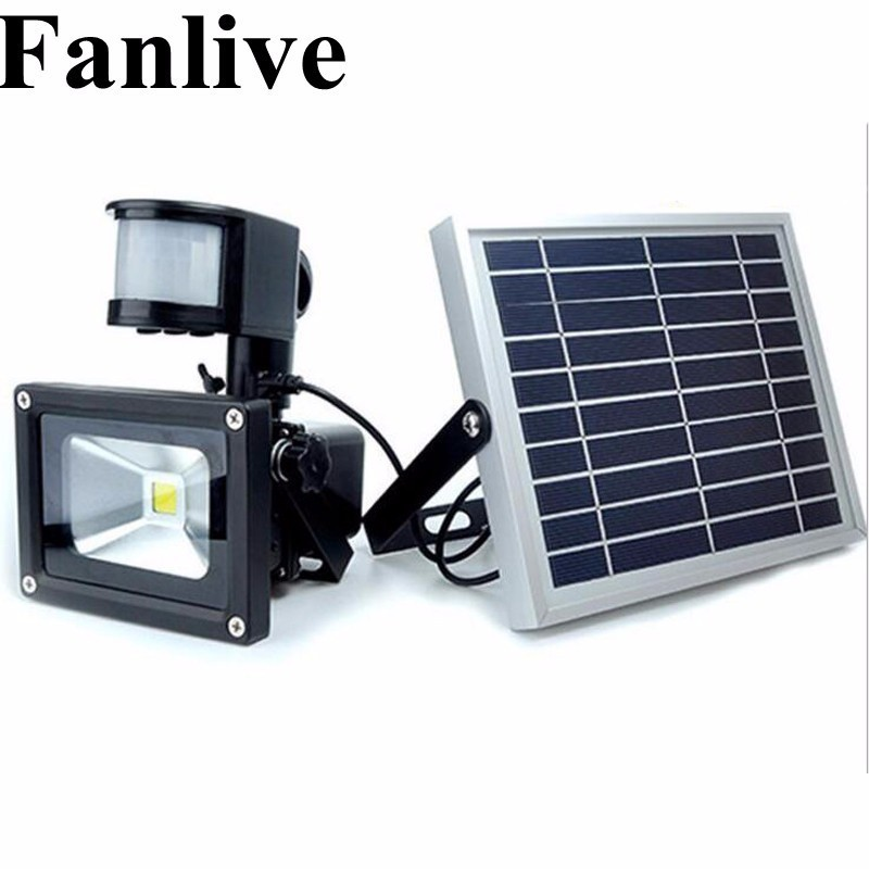 2pcs LED Solar Garden Light PIR Motion Sensor Waterproof IP65 10W 20W 30W 50W Wall Lamps Outdoor Emergency Lamp Led Floodlight 2 pcs 30w 64 led solar pir motion sensor led flood light 3600lm solar lamp ip65 solar led floodlight for outdoor garden lighting