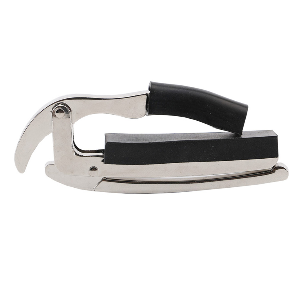 Silver Electric Acoustic Metal Guitar Capo Ukulele Quick Change Tune Tuner