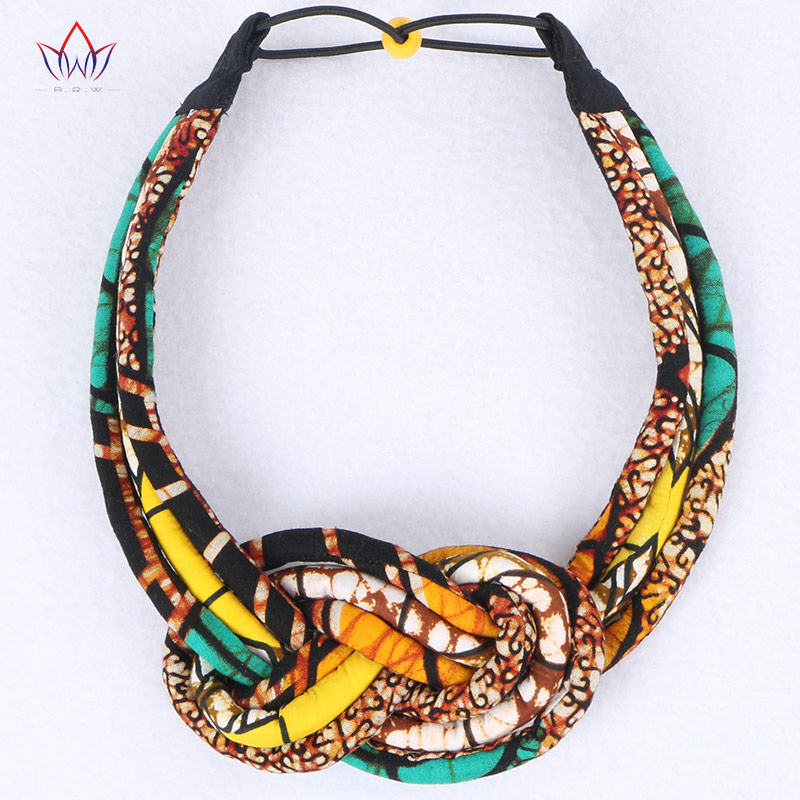 2019 New Vintage Ankara Handmade Necklace Jewelry African