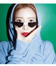 MARC Women Trendy sunglasses Korean fashion Brand eyewear triangle Cat eye Ocean lens sun glasses Designer For Female Ladies