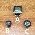 Bronze antigo Liga de Zinco Puxadores de Armário Da Cozinha e Armário Armário Roupeiro Porta Gaveta Puxa Dresser Alças