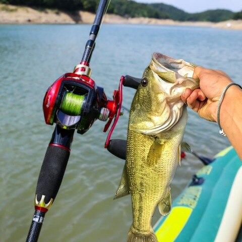 esquerda mao direita fundicao carretel pesca bobina
