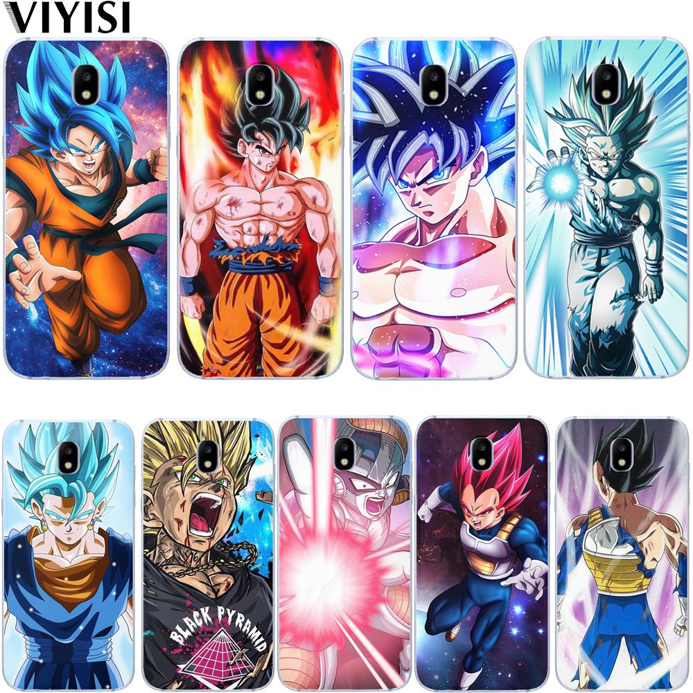 Cartoon Dragon Ball Z Super DBZ Goku Luxury Phone Case For <font><b>Samsung</b></font> Galaxy J3 J4 J5 <font><b>J6</b></font> J7 J8 <font><b>Plus</b></font> 2017 <font><b>2018</b></font> Etui <font><b>Coque</b></font> Capa Shell image