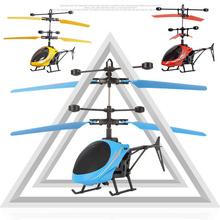 Dzieci helikopter Mini indukcja RC zabawki drony dla dzieci Led Light pilot latające samoloty zawieszenie drony tanie tanio Pilot zdalnego sterowania AUTOPS 30mins Mode1 Mode2 Silnik szczotki 17*11*4 cm Ładowarka Instrukcja obsługi Kabel usb