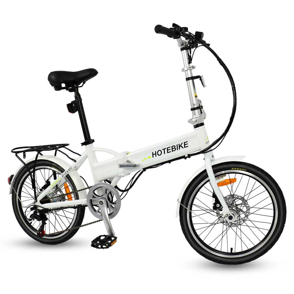 Discount free shipping 20 inch aluminum alloy frame best folding electric bike 3