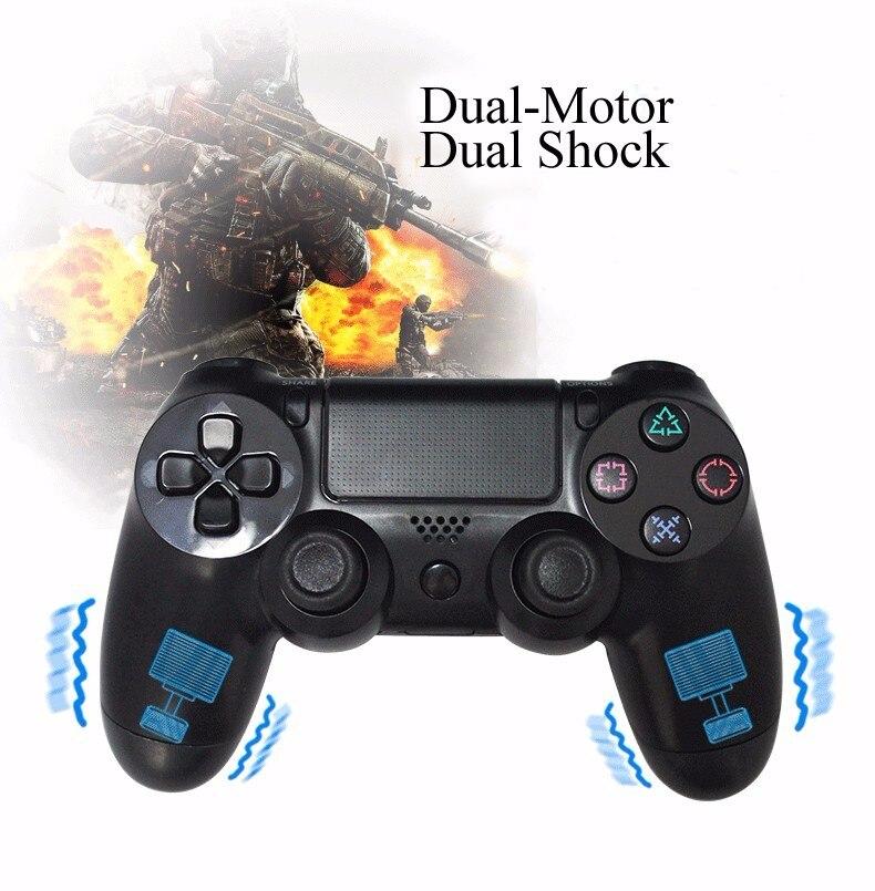 USB проводной игровой контроллер для Sony <font><b>PS4</b></font> консоли PlayStation 4 DualShock вибрации игровой джойстик геймпад для Play Station 4