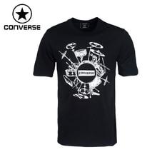 Original New Arrival 2017 Converse  Men's  T-shirts  short sleeve Sportswear