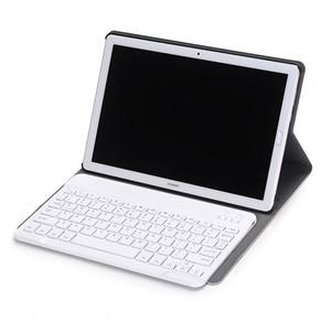 Image 2 - Lüks Klavye Kılıf Huawei MediaPad M5 10 10.8 deri kılıf Standı Bluetooth klavye tablet kılıfı için Huawei M5 Pro 10.8