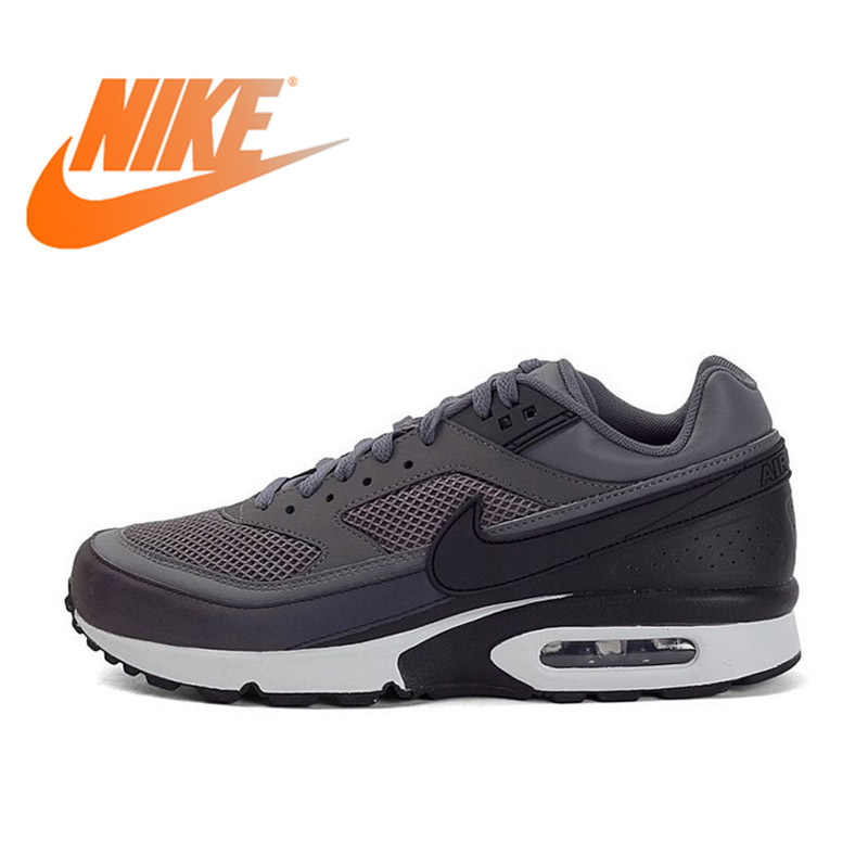 new arrival 8361d f57c9 ... Authentic Official Nike Air Max BW 3M Dark Grey Men s Breathable  Running Shoes Sports Sneakers Outdoor Durable 881981 on Aliexpress.com    alibaba group