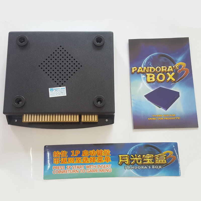 520 in 1  Pandora box 3 jamma arcade multi game board/ Pandora games pcb multigame card VGA output for LED+CRT casual leisure sport men s mechanical wrist watch leather strap tourbillon calendar display luminous night light big crown