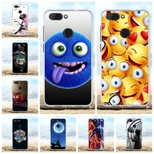 For ZTE Blade V9 Phone Case Ultra-thin Soft TPU Silicone Cover Geometric Patterned Funda Shell
