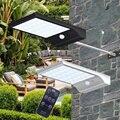 Новый Солнечный дистанционный инфракрасный пульт дистанционного управления Затемнением уличного света PIR датчик движения свет 48LED садовый...