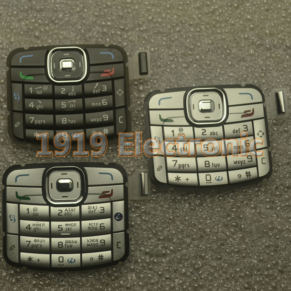 Case Cover Housing Keyboard-Buttons Menu Nokia N70 New Main Or English Russian-Keypad