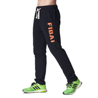 Sportswear Pants Gym Clothing Casual Elastic Cotton Mens Fitness Workout Sweatpants Trousers Joggers Large Size