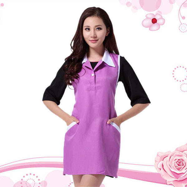 Hair And Beauty Salon Vest Jackt Uniform Wear A Nail