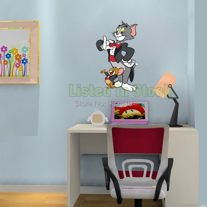 ... Superb Tom And Jerry Wall Stickers Ideas Part 42