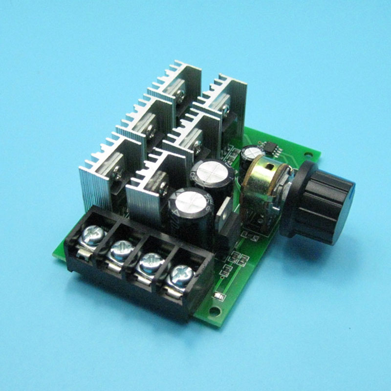 Home Appliance Parts Reasonable High Power 40a Dc Motor Speed Regulator 9v-60v Pwm Universal Motor Drive Air Conditioning Appliance Parts