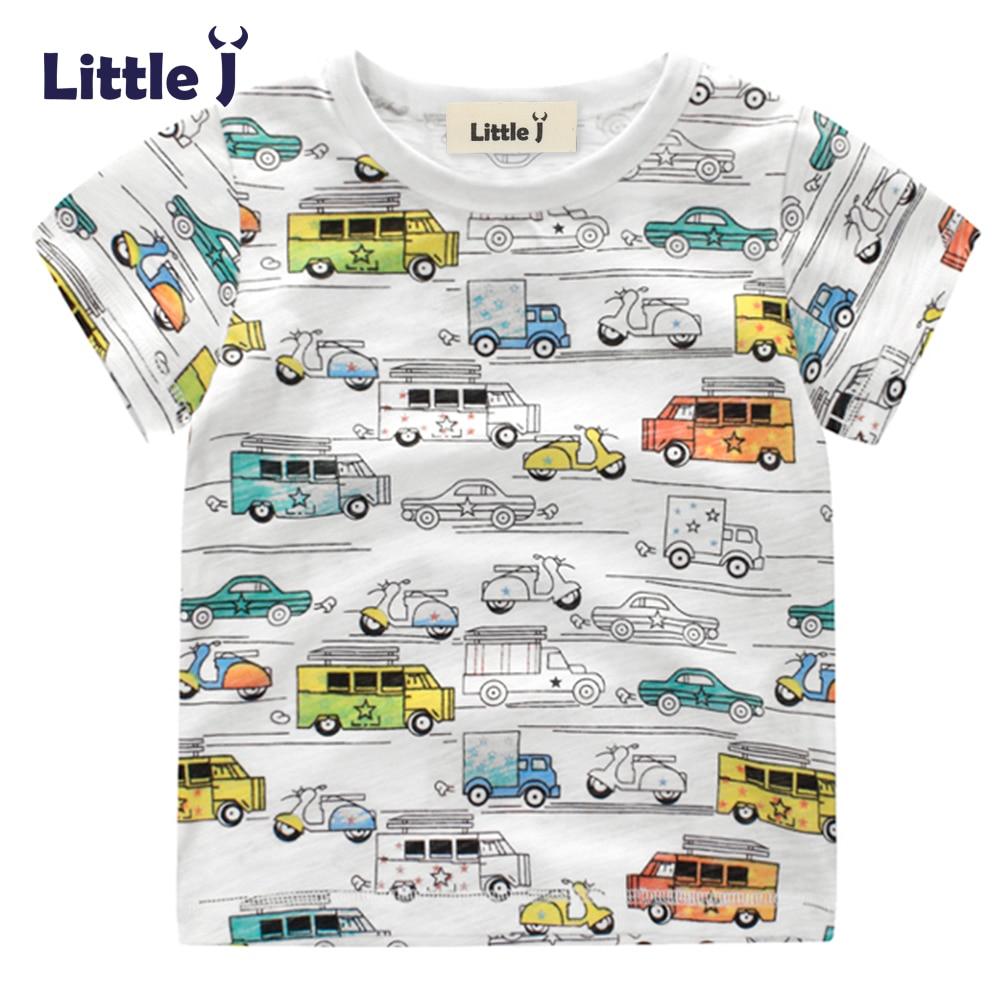 Clearance-Baby-Boy-Cotton-Shirts-Cartoon-Colorful-Car-Children-Summer-Short-Sleeve-T-Shirt-Boy-Girls-Tops-Tees-Kids-Clothes-2-7Y-1