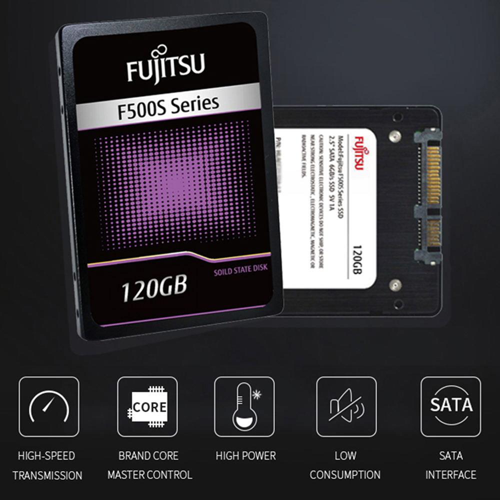 "FUJITSU 2.5"" ssd 1tb 1024G ssd sata iii 3D NAND Flash SMI/Phison/Realtek TLC ssd hard drive 1TB Solid State Drives for PC laptop 1"