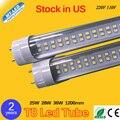 25 W T8 CONDUZIU o Tubo 28 W 36 W Duplo Row 1200mm base G13 SMD 2835 220 V 110 V conduziu a lâmpada de Iluminação 2 anos de garantia livre grátis