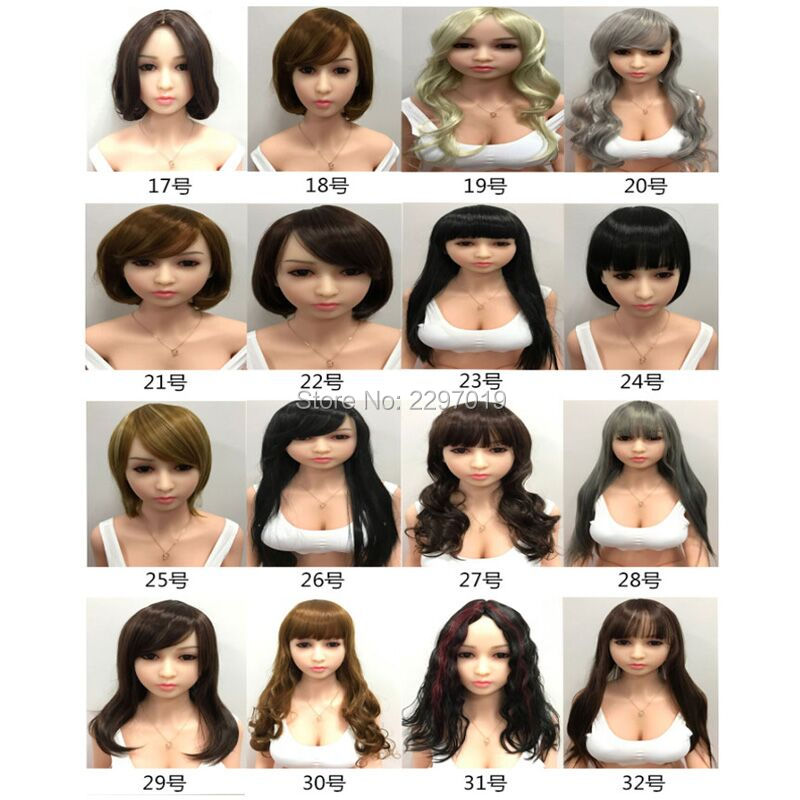 KNETSCH 135cm-175cm Sex Doll Wig Accessories Real Silicone TPE Sex Dolls Hair Lifelike Love Doll Wig Accessories