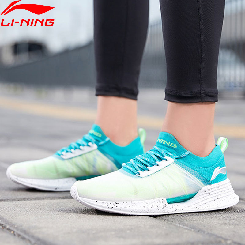 Li Ning Men CLOUD COOL Cushion Running Shoes PROBAR LOC Breathable Mono Yarn LI NING CLOUD