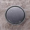 DONYUMMYJO 304 Stainess Steel Bathroom Floor Drain Round Grate Waste Drainer Floor Filler