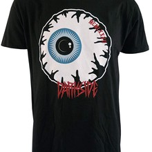 1e0ea097c4e Eyeball Genuine Silk Screen Printed Mens T Shirt With Embroidered Logo  Cheap Sale 100 % Cotton