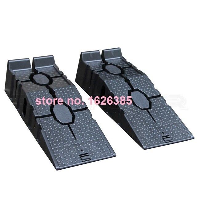 2 pcs 1 paire voiture soutien rampe changer l 39 huile d 39 entretien rampe r paration de pneus. Black Bedroom Furniture Sets. Home Design Ideas